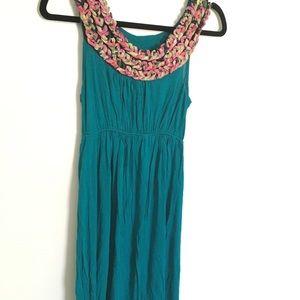 🍁 Turquoise Dress